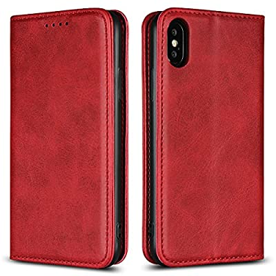 HAOHUI Premium PU Leather Wallet Phone Case … from HAOHUI