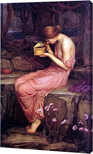 Psyche Opening the Golden Box by John William Waterhouse - 10