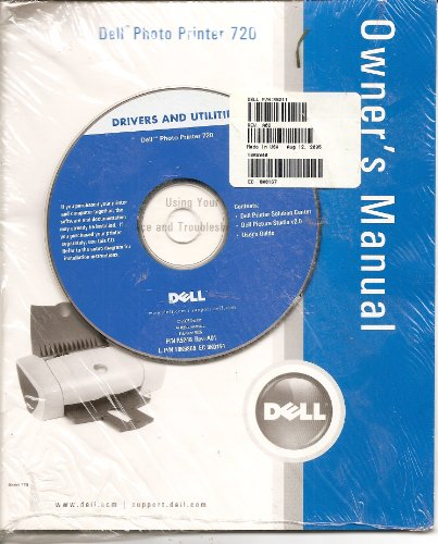 DELL Photo Printer 720 Owner's Manual w/Drivers and Utilities ()