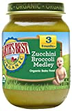 Earth's Best Organic Stage 3 Baby Food, Zucchini & Broccoli Medley, 6...