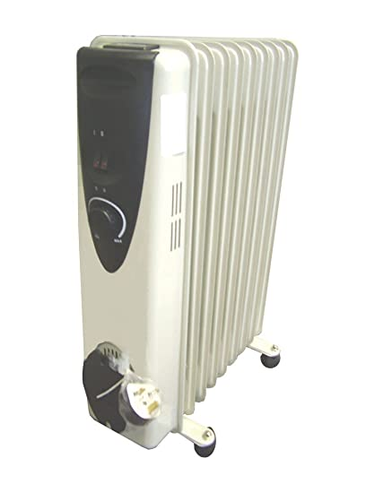 6c5d20f6a0c Ultramax Oil Filled Radiator 2kW 9 Fins Column Heater HTRUMXOR2-9  Amazon.co .uk  Kitchen   Home