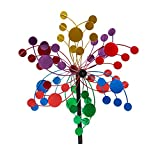 Evergreen Confetti Outdoor Safe Kinetic Wind Spinning Topper - Pole Sold Separately