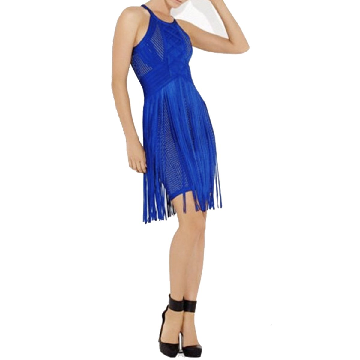 979c60c51 Hlbcbg New Women s Bandage Bodycon Dress Cocktail Lace Dress 2321 at Amazon  Women s Clothing store