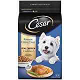 CESAR Rotisserie Chicken Flavor With Spring Vegetables Garnish Dry Small Breed Dog Food 5 Pounds