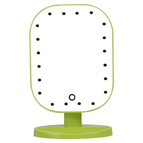 Amazoncom Anself 20 Led Light Square Vanity Desk Stand Makeup
