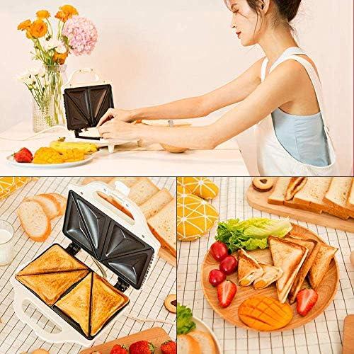 Sandwich Maker Toastie avec Sandwich petite machine Grille-pain multifonction Petit déjeuner machine JIAJIAFUDR