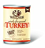 Wellness Canned Dog Food for Adult Dogs, 95-Percent Turkey, 12-Pack of 13.2-Ounce Cans, My Pet Supplies