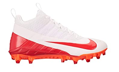 6f594f31c20f Image Unavailable. Image not available for. Color  Nike Alpha Huarache 6  Pro Lax Men s White-Red Lacrosse Cleats ...
