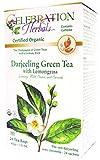 Celebration Herbals Green Tea Darjeeling Lemongrass Bags