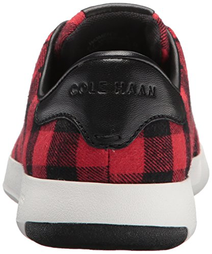 Lace Women's Ox Leather Tennis Cole Haan Grandpro Sneaker Plaid Fashion w6UxqUX5WT