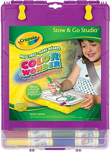 Crayola Color Wonder Stow and Go Studio