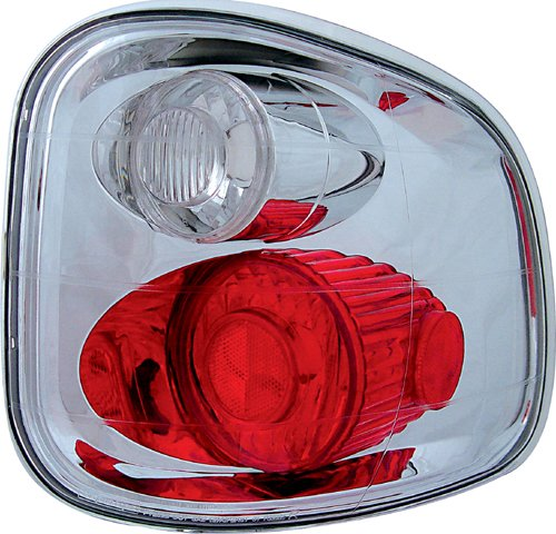 IPCW CWT-CE501FC Crystal Eyes Crystal Clear Tail Lamp - Pair