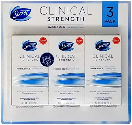 Secret Clinical Strength Invisible Deodorant product image