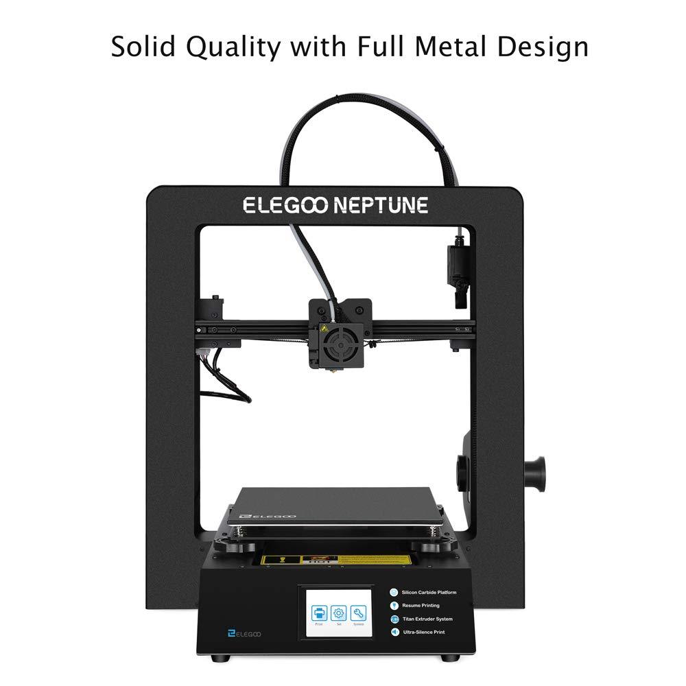 ELEGOO NEPTUNE Impresora 3D FDM Impresora 3D Pleno Metal Tamaño de ...