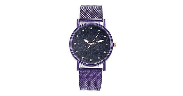 Amazon.com: Reloj de cuarzo Kaicran 2019 para mujer, de lujo ...
