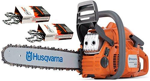 Cutting Chainsaw (Husqvarna 450 (50cc) Cutting Kit, includes a 450 chainsaw PLUS 18