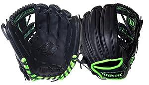 Wilson 6-4-3 Adult Baseball Glove 11.5 A12rb15sadpng Blk/gn