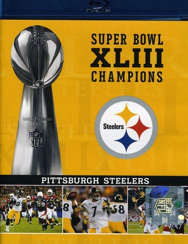 NFL Super Bowl XLIII: Pittsburgh Steelers Champions [Blu-ray]