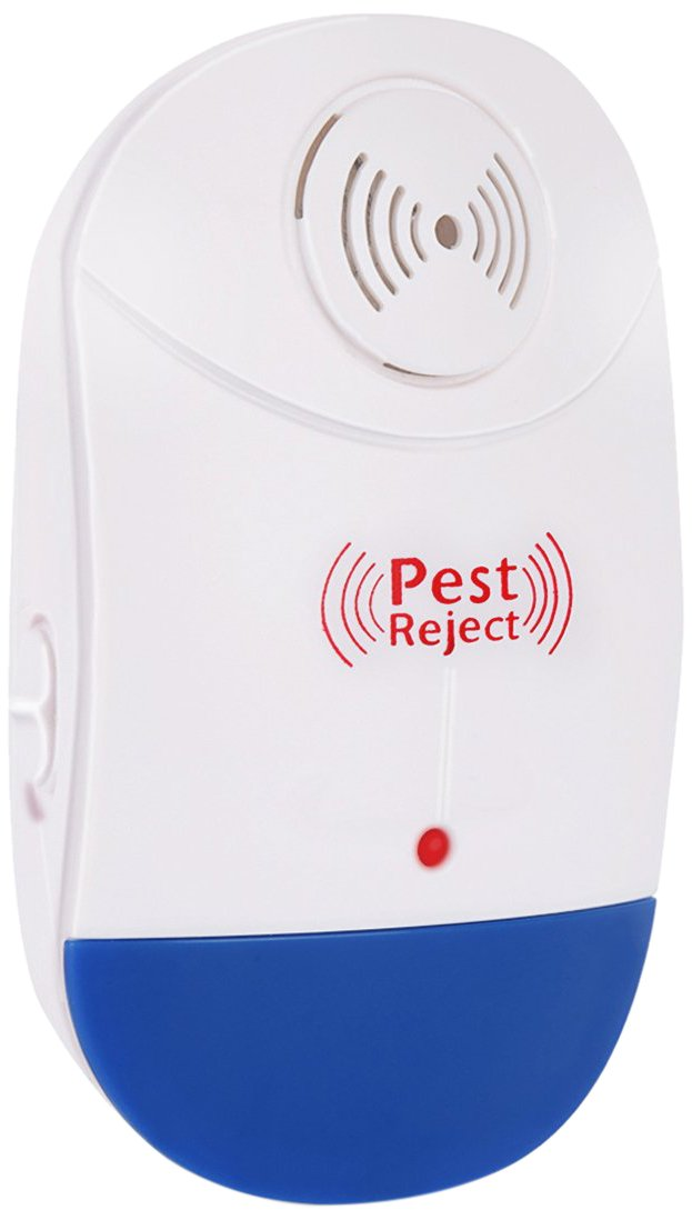 LINK Innovation Ultrasonic Pest Repeller Control-Electronic Plug In-Repelling for Insects-Roaches , Flies, Ants, Mice