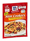 McCormick Slow Cookers Fiesta Chicken Seasoning Mix 1.5 OZ (Pack of 12)
