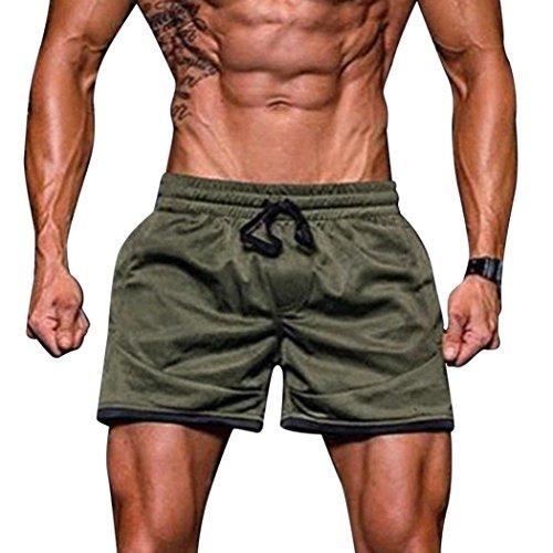 Deportivos Running Boxers Logobeing Pantalones Bañador Baño Trajes Bañadores  Para Hombre Verde De Corto Surf Ropa ... da71d133365