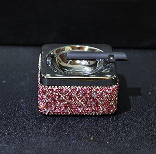 Cheap  TISHAA Bling Bling Luxury Crystal Diamond Ashtray,Cigar Ashtray and Big Cigarette Ashtrays..