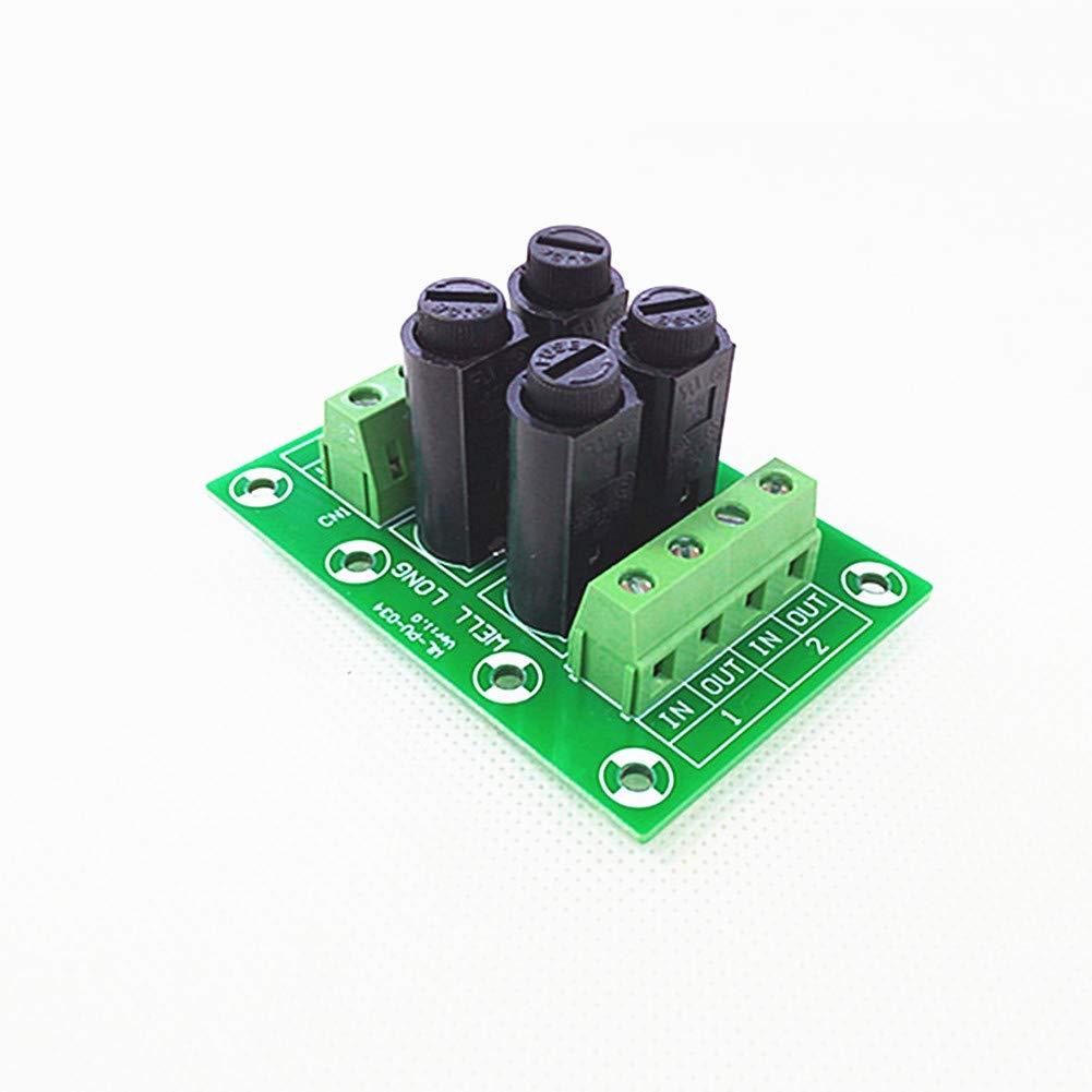 Fuse Module,4 Channel Fuse Power Distribution Module Board.