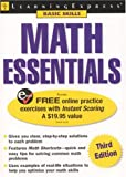 Math Essentials, LearningExpress Staff, 1576855554
