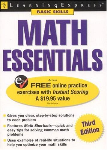 Math Essentials (Learning Express: Basic Skills)