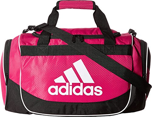 adidas Unisex Defense Small Duffel Bold Pink
