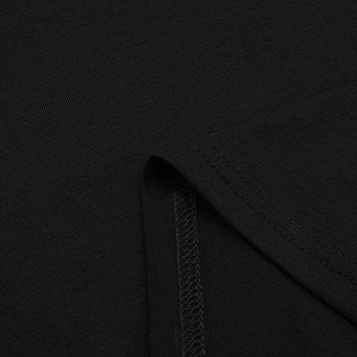 Chemisier Blouse Casual Col Nue Top Shirt Haut paule Chic URSING Unie Pull Lache Dcontracte Tops T Shirt Femmes Noir Chemise Tunique Longue Couleur Manche Haut Sexy Tee Bateau 7qw1gZ1E6