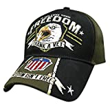 Military Eagle Scream If You Love Your Freedom, Thank a Vet cap