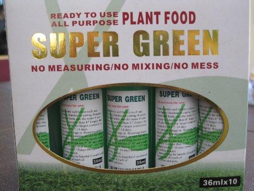 All Purpose Super Green Plant Food - 36ml x 10 Per Box ()