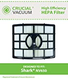shark 652 - Replacement for Shark NV650 HEPA Style Filter Fits NV650, NV651 & NV652 Rotator Lift-Away, Compatible With Part # XHF650, by Think Crucial