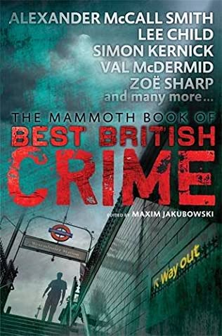 book cover of Mammoth Book of Best British Crime 11