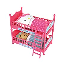 Hello Kitty Double Bunk Bed with Cushions, Futons and Characters (Japan Import)
