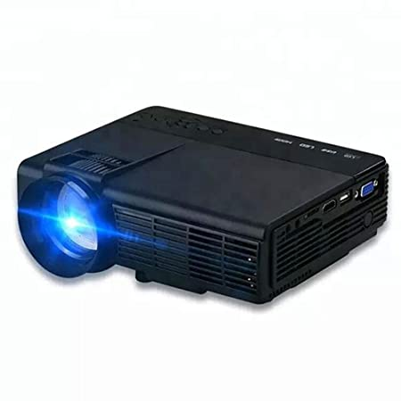 QLPP Mini proyector, 75ANSI LM 100 Pulgadas de Pantalla 90 ...
