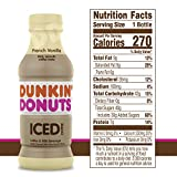 Dunkin Donuts Iced Coffee, French Vanilla, 13.7