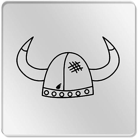 6 x de Viking Casco de 95 mm, transparente posavasos (cr00112925 ...