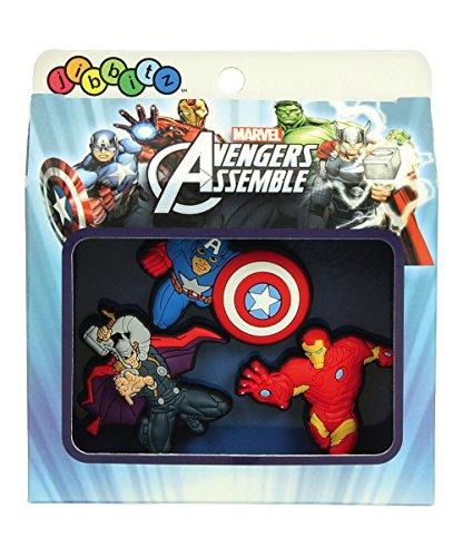 Marvel Avengers Jibbitz Crocs Shoe Charm Set