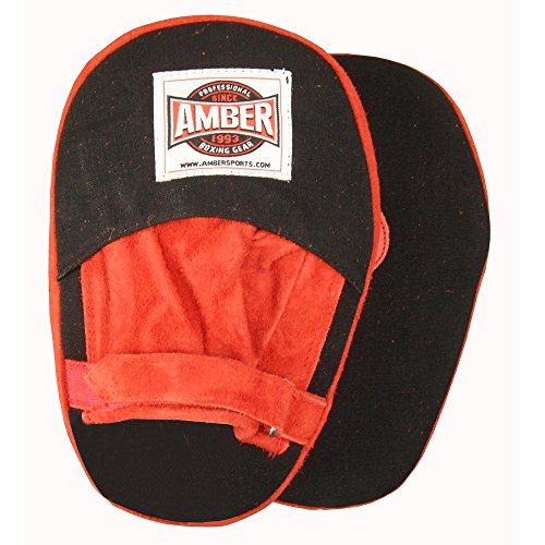 Amber Fight Gear Canvas Punch Mitts