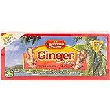 Caribbean Dreams Ginger Tea, 24 Tea Bags(1.34oz), 100 Natural Ginger Tea from Jamaica