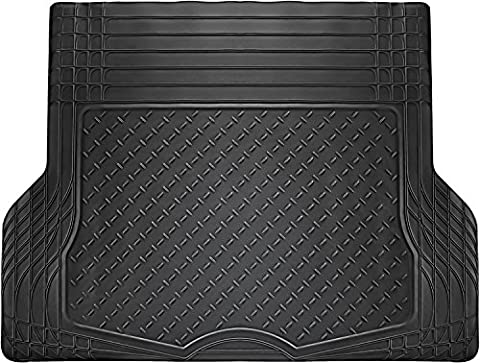 OxGord WeatherShield HD Rubber Trunk Cargo Liner Floor Mat, Trim-to-Fit for Car, SUV, Van, Trucks - 2005 Cadillac Cts