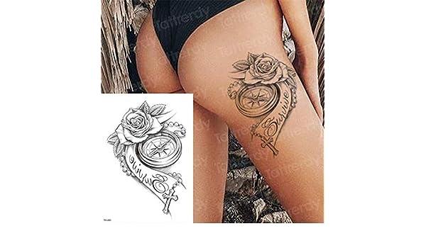 3pcs Tatuaje Brazo Manga Tatuaje Apliques patrón 3pcs-7: Amazon.es ...