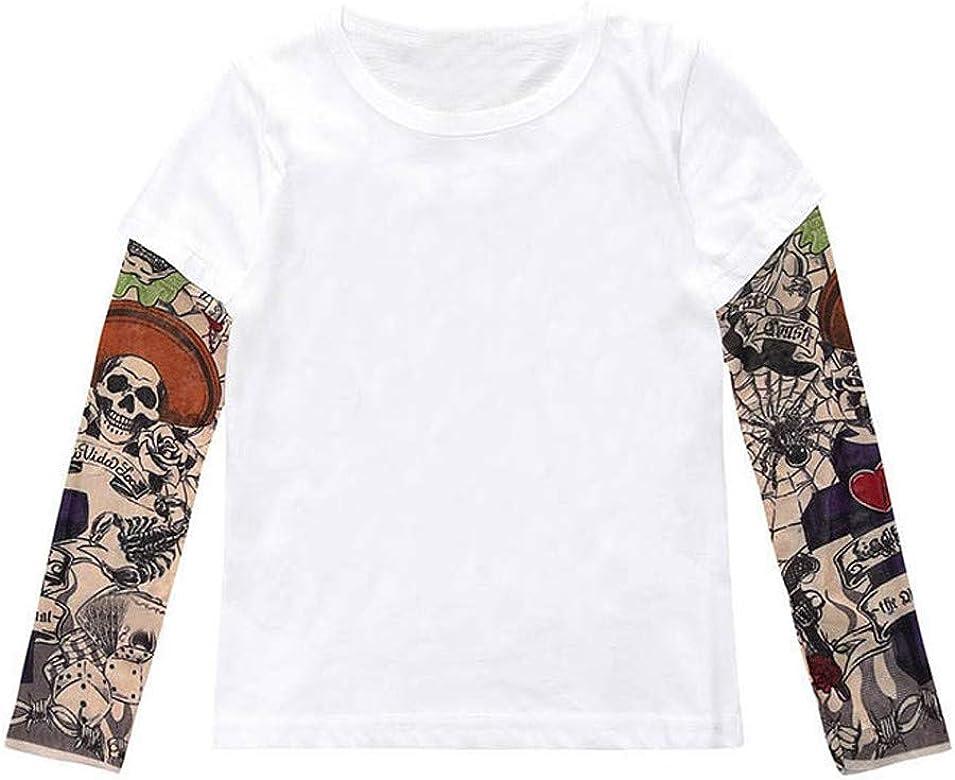 Surfiiy - Camiseta de Manga Larga para niño, diseño de Tatuaje ...