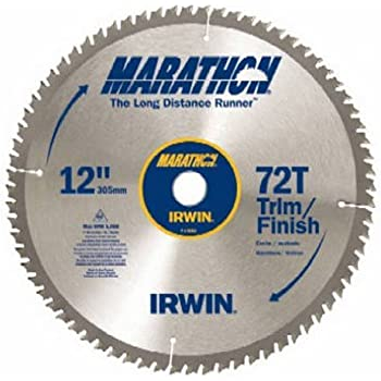 Irwin Tools Marathon Carbide Table Miter Circular Blade