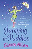 Front cover for the book Jumping in puddles by Claire Allan