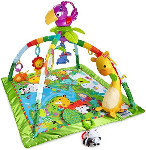Fisher-Price Rainforest Deluxe Gym is one of the best toys for babies
