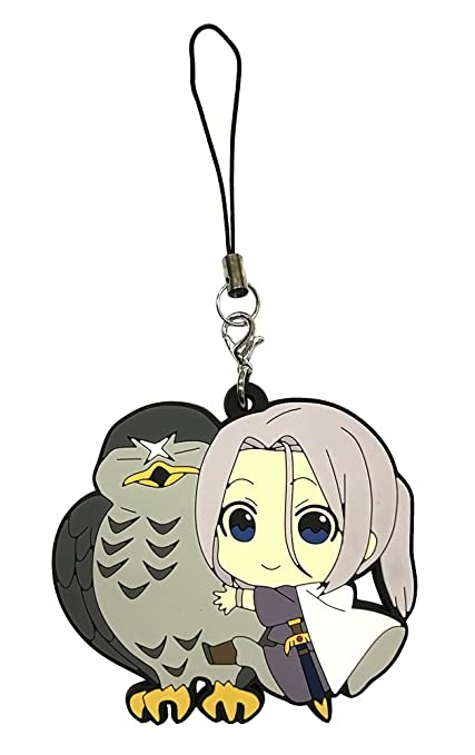 Amazon.com: La Heroica Legend of arslan: arslan PVC Llavero ...