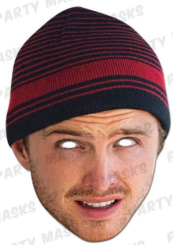 Official Breaking Bad Jesse Pinkman Face Mask (Full Face Card)]()